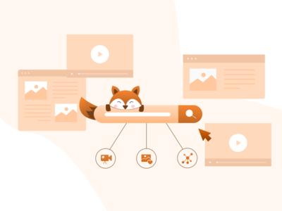 Search bar illustration