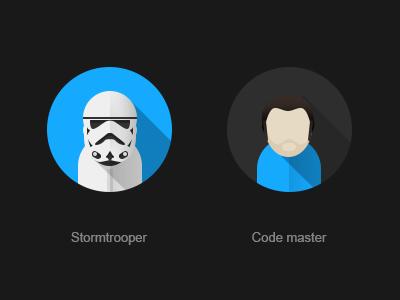 Stormtrooper stormtrooper avatar flat sw clone