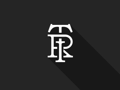 Tailor Fashion House logotype logo flat longshadow lettering design logotype