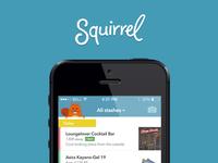 Squirrel List View