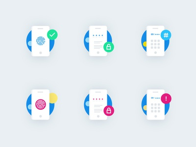 Icons for ISP APP