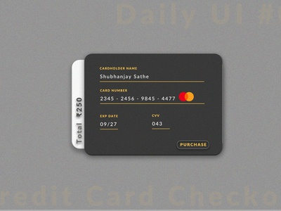 Credit-card Checkout