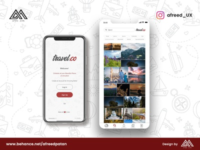 Travel.co Mobile App Design