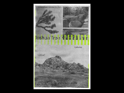 JT print california desert photography texture poster