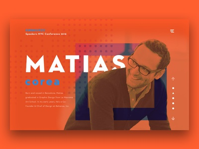 DailyUI #3 - Matias Corea awwwards webdesign interface ui dailyui matiascorea