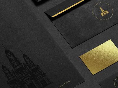 Branding   Campus Creative Agency campus creative agency classic elegant mockups art directory agency campus golden branding graphic design