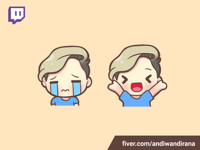 Cute twitch emote kawaii character chibi twitchemote twitch addorable cute