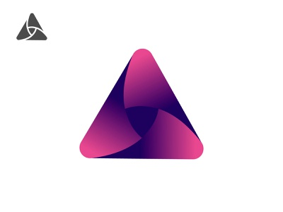 A / Propeller branding logodesign design logo