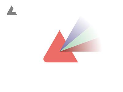 Lefty / Prism lefty studio black minimal grid branding monogram logodesign design logo