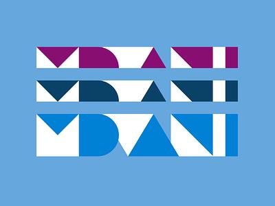 Mdvanii Mdvanii Mdvanii minimal grid branding monogram logodesign design logo