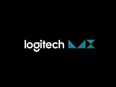 Logitech MX x m minimal grid branding monogram logodesign design logo