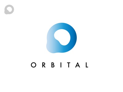 Orbital / Research black minimal branding logodesign design logo