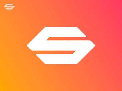 S / Monogram / Solar Panel minimal grid branding monogram logodesign design logo