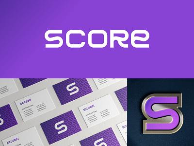 Score Logo Exploration grid branding monogram logodesign logo