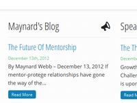 Recent blog posts