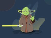 """Star wars"" play off Yoda"