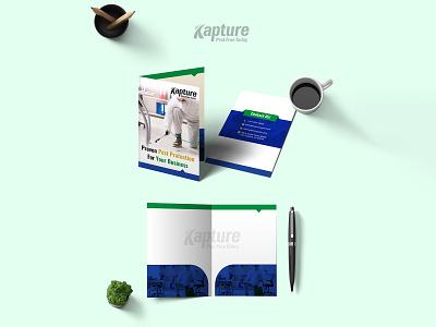 Kapture Pest Free Today Brochure Design pest control business protection brochure design brochure template brochure mockup brochure layout brochure design advertisement