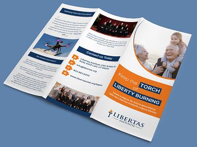 Libertas Institute Brochure Design advertise branding institute logo brochure design brochure template brochure mockup brochure layout brochure design advertisement