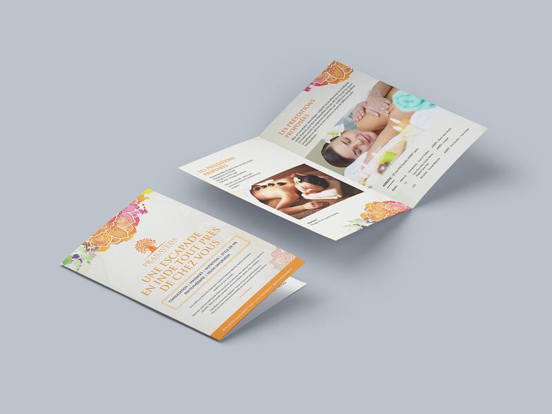 Une Escapade En Inde Tout Pres De Chez Vous brochure template brochure mockup design typography brochure layout brochure design branding brochure advertisement advertise