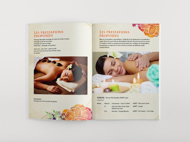 Les Prestations Proposees Brochure Design brochure mockup brochure template design typography brochure layout branding brochure design brochure advertisement advertise