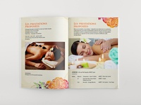 Les Prestations Proposees Brochure Design