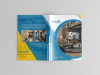 Genesis Concept Brochure Design