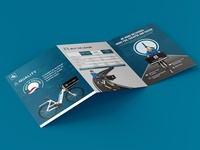 Delivery Bike Brochure Design