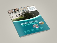Summer Institute Brochure Design