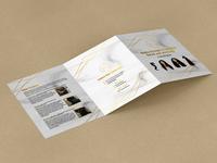 Luxury Hair Extension Brochure Design