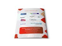 They Trust Us Brochure Design