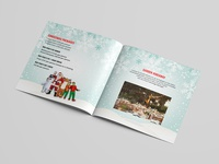 Christmas Package Brochure Design