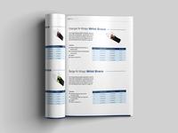 Wrist Brace Brochure Design