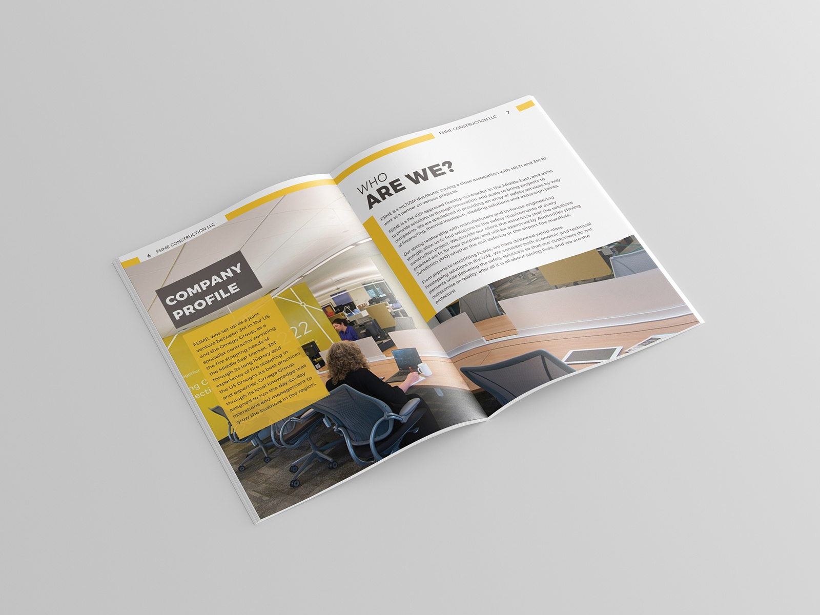 Company Profile Brochure Design by ProBrochureLand on Dribbble