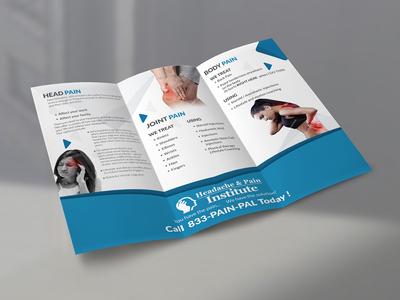 Headache And Pain Institute Brochure Design