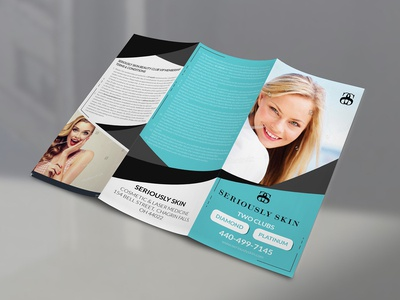 Seriously Skin Brochure Design