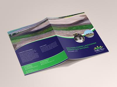 Walter Farm Brochure Design