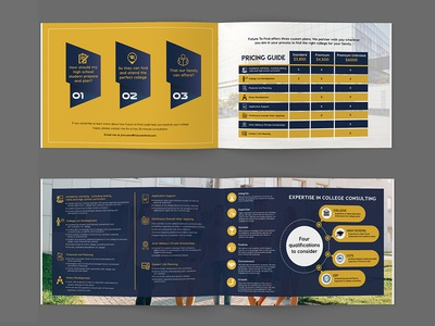Expertise In College Consulting Brochure Design