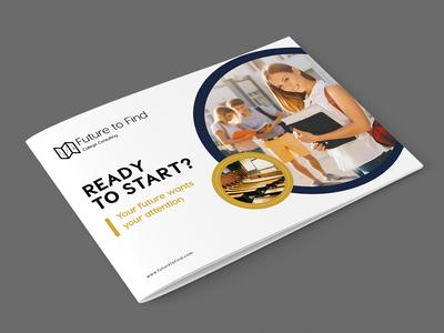 Future to Find Brochure design