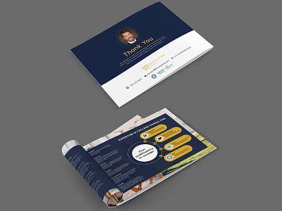 Thank You Brochure Design advertise advertisement brochure design brochure template brochure mockup brochure layout brochure design
