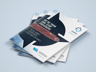 KARMA Brochure Design logo advertisement advertise brochure design brochure template brochure mockup brochure layout brochure design