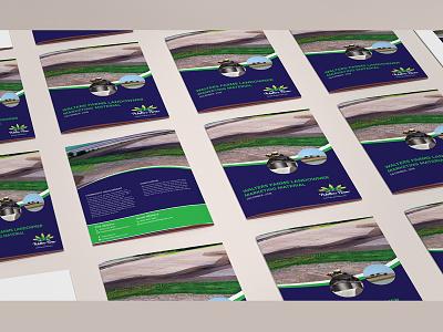 Walter Farms Brochure Design logo advertise brochure design brochure template brochure mockup brochure layout brochure design advertisement