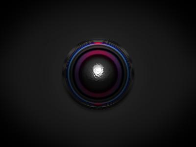 1 layer style Orb orb one one layer style layer style circle ps purple