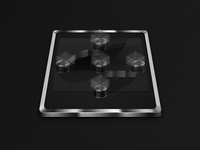 Futuristic game table futuristic game table glass transparent metal perspective training cube cubes icon