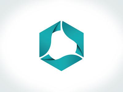 Cycle Farms pictogram organic geometric turquoise sustainable logo picto pictogram