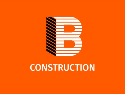 IB Construction  Recovered  03 logodesign logoconcept logo design logoinspiration logomark identity branding design logo illustrator
