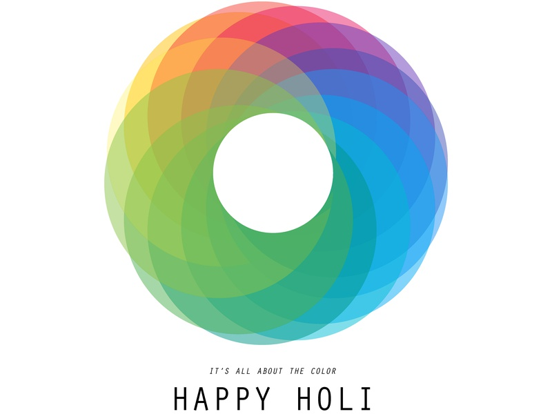 Holi Wishes vector illustration art design graphic design minimal minimal art illustration artwork