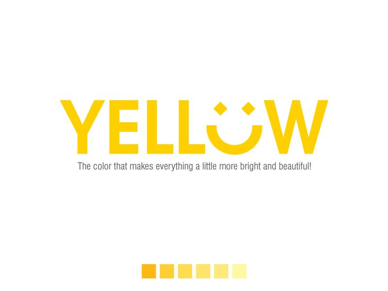 Colored Emotions design graphic design color psychology typography type art artwork