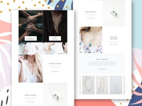 Jewellery Page Design