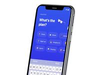 Wagon social app Activity Input