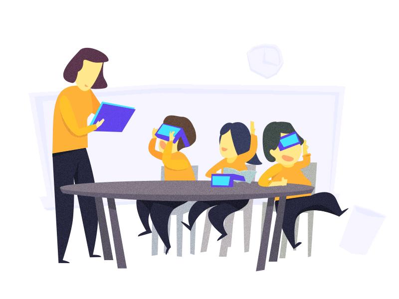 Say hello to VR Classroom! future baidu classroom vr